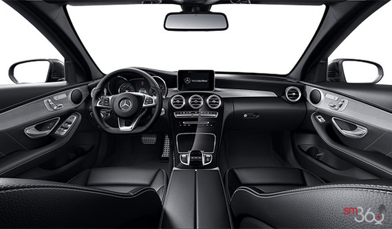 Black AMG ARTICO Leather