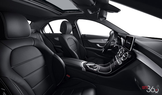 Black Artico AMG Leather