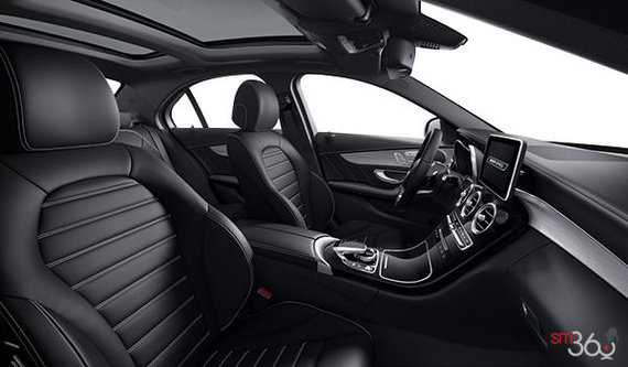Black AMG Leather