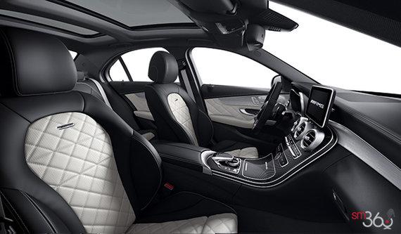 designo Platnium White/Black - Two Tone Nappa Leather