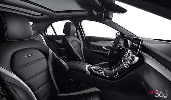 Black - Single Tone (with grey stripes) AMG Nappa Leather