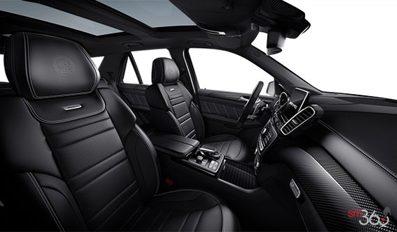 Black (Grey Stitching) AMG Exclusive Nappa Leather