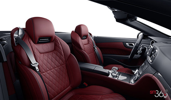 Bengal Red AMG Exclusive Nappa Leather