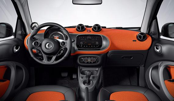 Black/Orange Fabric