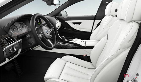 Opal White/Black Full Merino Leather