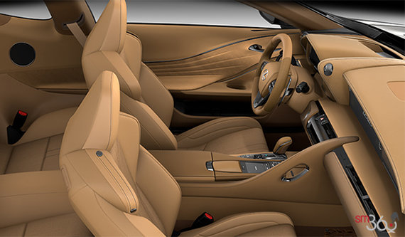 Ocher Alcantara Leather