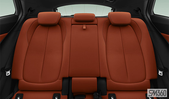 Magma Red Dakota Perforated Leather