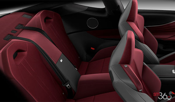 Rioja Red Alcantara Leather