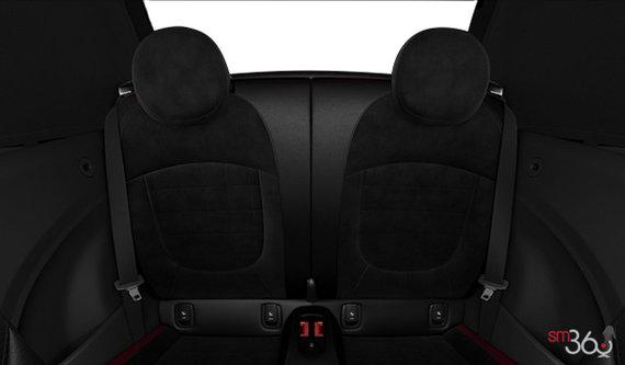 Dinamica Leather Combination Carbon Black