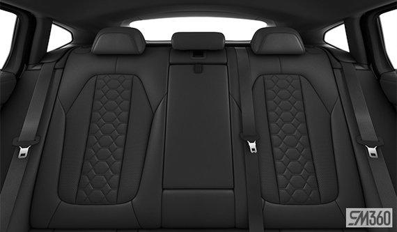 Black Extended Merino Leather