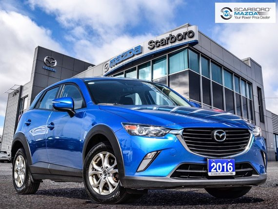 2016 Mazda CX-3 GS AWD 1OWNER NO ACCIDENTS