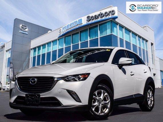 2017 Mazda CX-3 GS AWD REAR CAMERA LOW KM