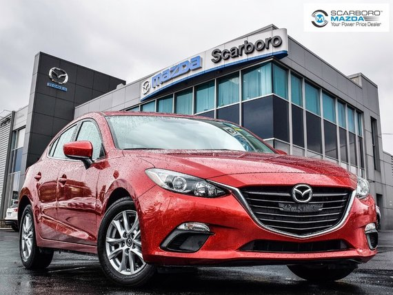 2014  Mazda3 Sport GS NO ACCIDENTS REAR CAMERA 6 SPEED MANUAL