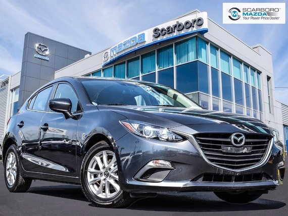 2015  Mazda3 Sport GS HATCHBACK 1 OWNER NO ACCIDENT