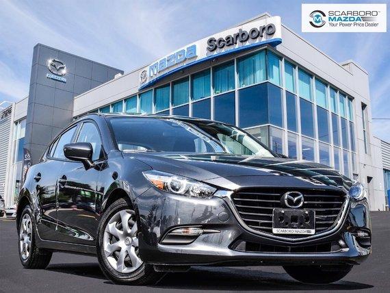 2018  Mazda3 Sport GX REAR CAMERA HATCHBACK