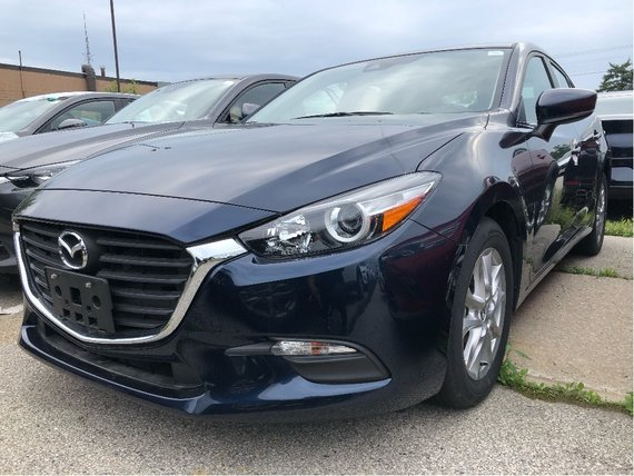2018  Mazda3 Sport GS 1 OWNER LOW LOW KM
