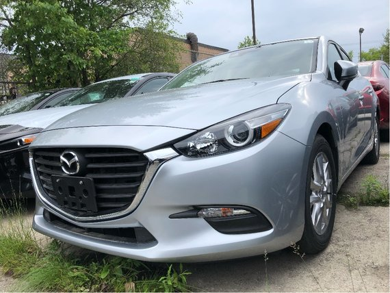 2018  Mazda3 Sport GS NO ACCIDENT LOW LOW KM