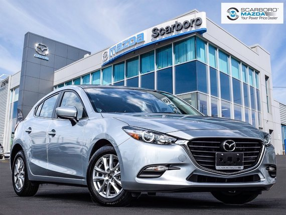 2018  Mazda3 Sport GS FREE NEW WINTER TIRES NEW CAR MILEAGE