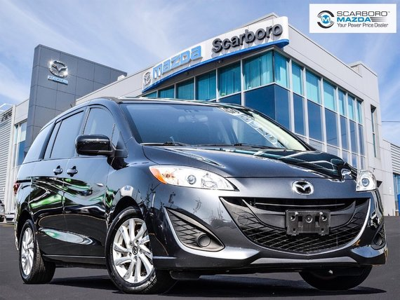 2015  Mazda5 1 OWNER NO ACCIDENT LOW LOW KM