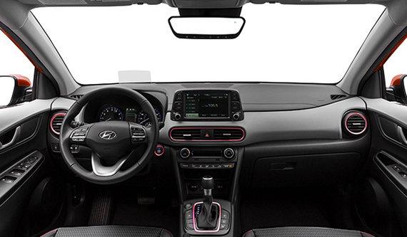 Hyundai Kona Ultimate Black With Red Trim 2019 Hyundai Riviere Du