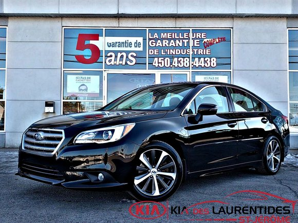 2015 Subaru Legacy **3.6R**LIMITED/TECH*EyeSight*GPS*CUIR TAN**