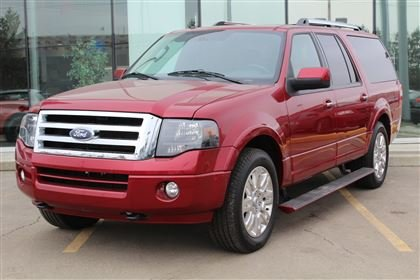 Used  Ford Expedition Max Expedition Limited Max V Sunroof Heated Seats Lea In Edmonton