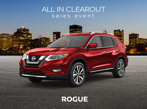 New Nissan Rogue Deals In Montreal Spinelli Nissan Promotion In Pointe Claire