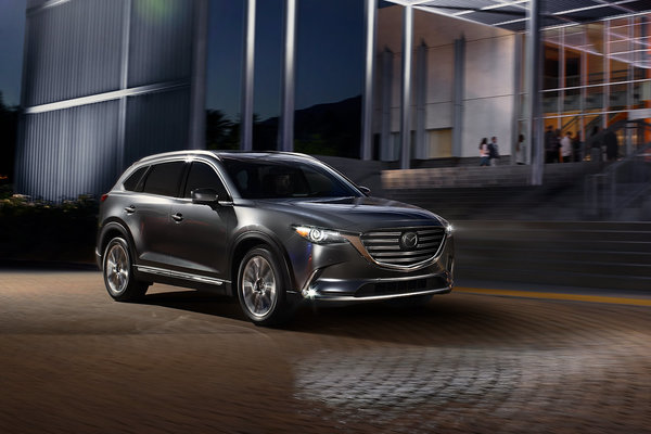 Say Hello to the brand-new 2019 Mazda CX-9