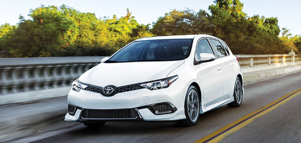 Discover the new 2017 Corolla iM!