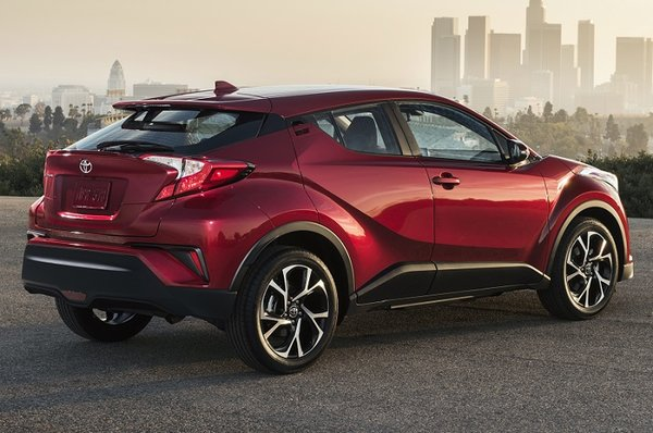 The 2018 Toyota C-HR as unique as it is new