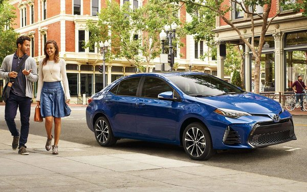 The redesigned 2017 Toyota Corolla!