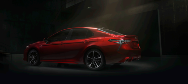 The all-new 2018 Toyota Camry unveiled at the Detroit Auto Show