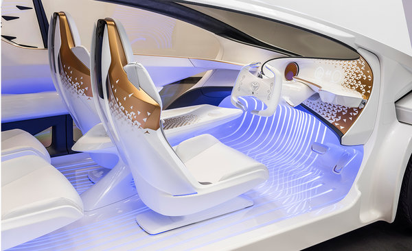 The Toyota Concept-i, the car of tomorrow!