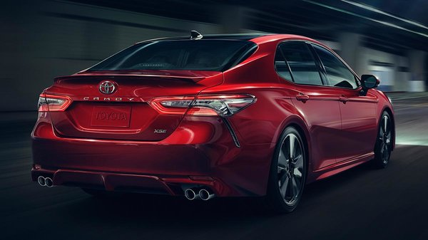 The new 2018 Camry, a complete redesign