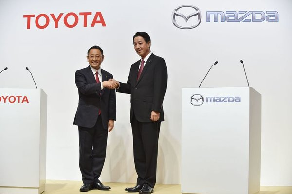 Never Before Seen: A Joint Factory for Mazda and Toyota in the USA!