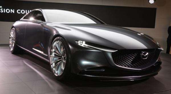 La Mazda Vision coupé 2018 au Salon de l'auto de Tokyo2017