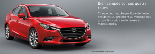 La Mazda 3 2018, la plus le fun à conduire!