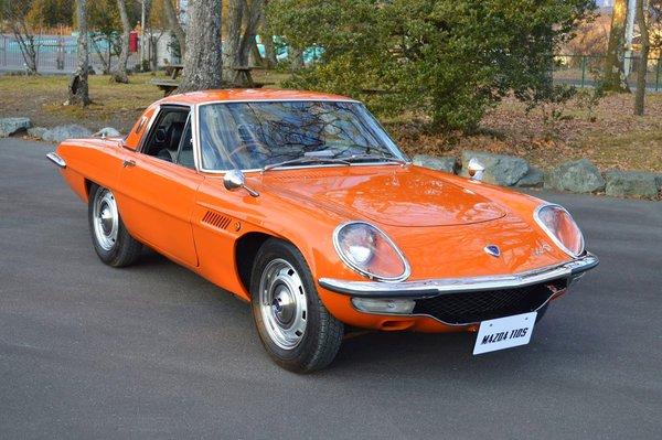 Mazda, 50 ans d'histoire avec la Mazda Sport 110 S