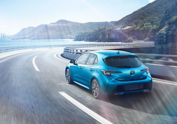 The all-new 2019 Corolla Hatchback