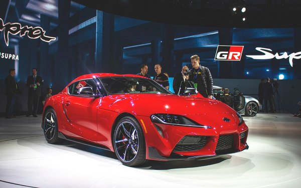 The Toyota Supra is Officially Back