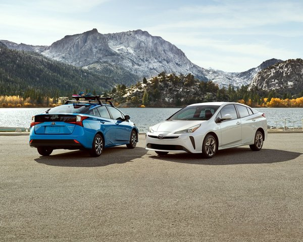 New features for the 2019 lineup of the Toyota Prius