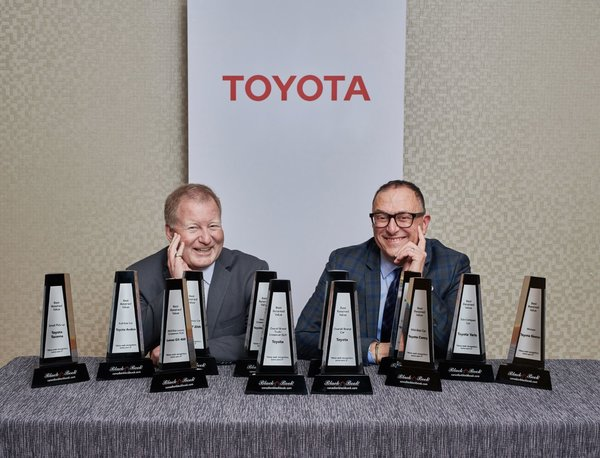All Vehicles Cars & Minivans Hybrids Crossovers & SUVs Pickup Trucks Build & Price Find a Dealer MENU           News Releases  Toyota Canada Inc. receives 12 retained value awards from Canadian Black Book and Four ALG residual value awards
