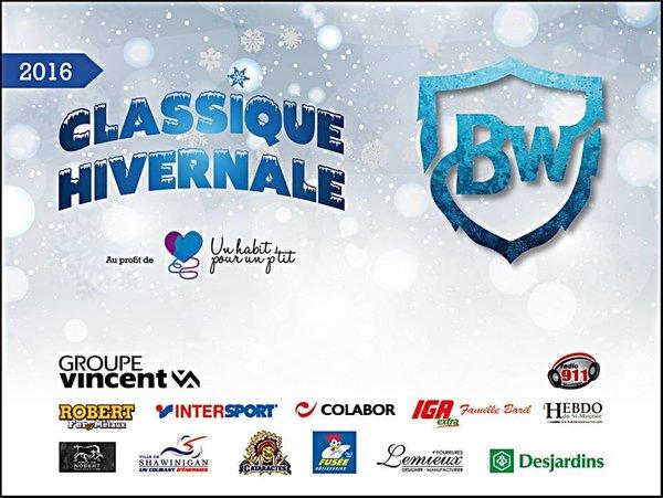 Maxime et Etienne Vincent, présidents d'honneur de la Classique hivernale Broadway!