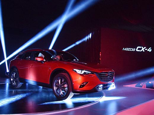 Le nouveau Mazda CX-4 2017 enfin dévoilé en Chine!