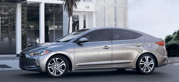 Hyundai Elantra 2017 : encore meilleure!