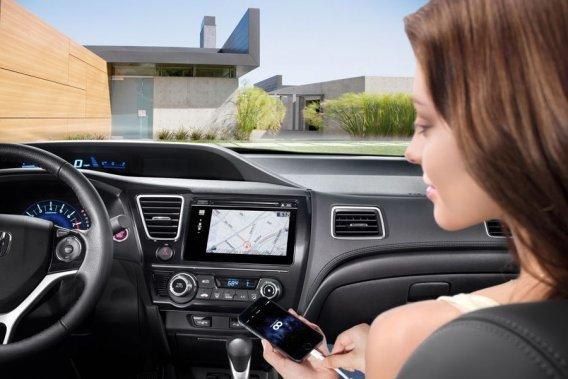 Honda Civic et iPhone vont ensemble!