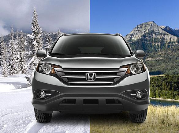 Prêt pour l'hiver en Honda avec la traction intégrale
