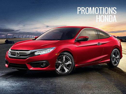 Économisez grâce à nos promotions Honda!