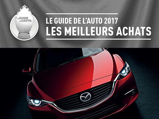 Mazda remporte 5 premières places au palmarès Guide de l'Auto 2017!