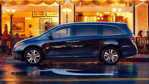 Honda Odyssey 2016 : si pratique, si technologique!